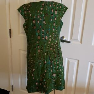 Signature by Robbie Bee Dresses - Signature by Robbie Bee green print sheath dress12